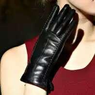 🚚 黑色女手套