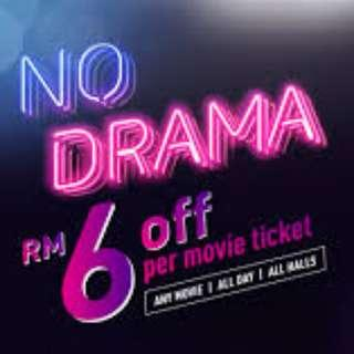 GSC MOVIE TICKET RM6 DISCOUNT