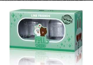 台灣 M記 line friend 杯