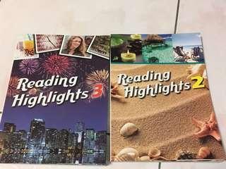 🚚 Reading Highlights 2 3(可拆賣)