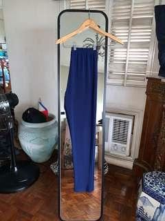 Blue Office Pants