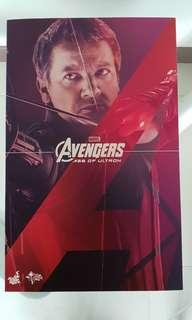 Clearance Sale - Hot Toys Avengers Age Of Ultron Hawkeye