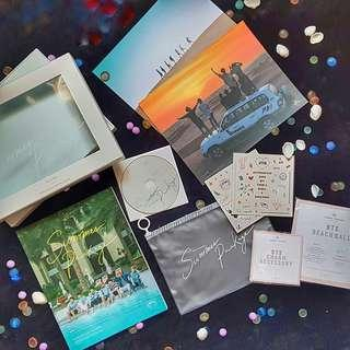 READY STOCK OFFICIAL BTS 2016 SUMMER PACKAGE IN DUBAI PVC POUCH #MMAR18