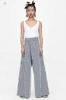 Zara Wide Leg Palazzo Trousers (brand new with tag)