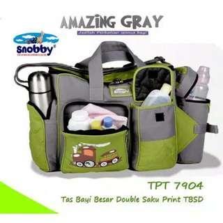 (BARU) SNOBBY TPT 7904 TAS BAYI BESAR