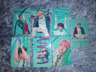 BTS Sticker Photocard