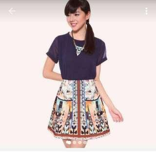 🚚 Love Bonito Neoprene Skirt Size XS