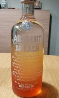 🚚 Absolut Vodka Apeach 750ml