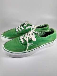 Vans Authentic Triple Green #legitdah