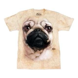 The Mountain Pug Face 2011 Vincent Hie T-Shirt Size S