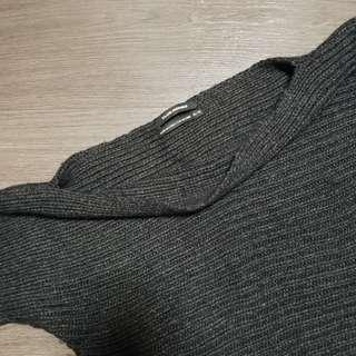 Club Monaco charcoal wool sweater