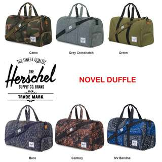 bf27cd7b30 Herschel Novel Duffle Bag   Herschel   Herschel Supply Novel Duffle Bag   Duffle  Bag