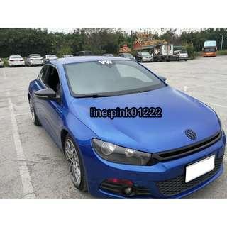 2012年 VW 帥氣Blue SCIROCCO 價可議