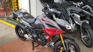 YAMAHA MT09 TRACER GT WITH SIDE CASES