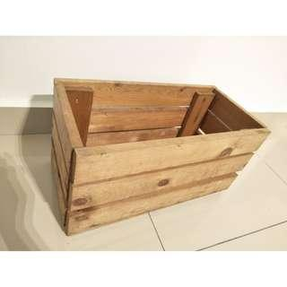 Old Junk Box Solid Wood