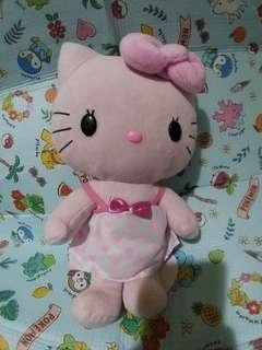 Hello Kitty 粉紅Dress me 公仔