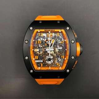 "Richard Mille RM11 ""orange storm"" Limited Edition"