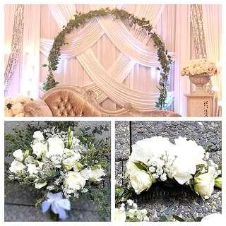 Wedding package - white theme