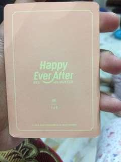 [WTS] BTS JIN PHOTOCARD (HAPPY EVER AFTER)