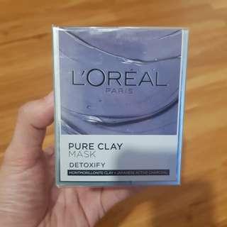 L'oreal Pure Clay Mask Detoxify