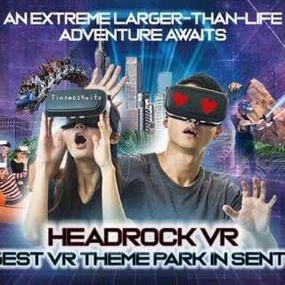 🚚 🦸🏻‍♂️ Headrock VR Sentosa Tickets for Sale! (NEW!)