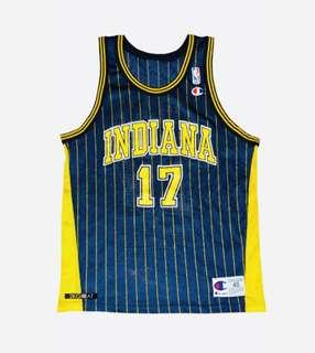 Chris Mullin Indiana Pacers NBA Jersey