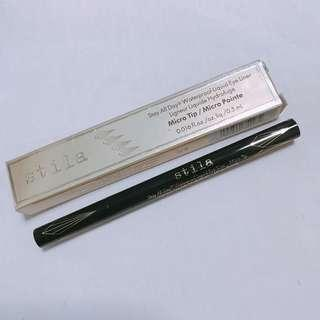 Stila Micro Tip black liner