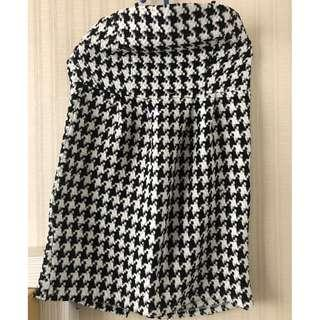 HOUNDSTOOTH LITTLE DRESS