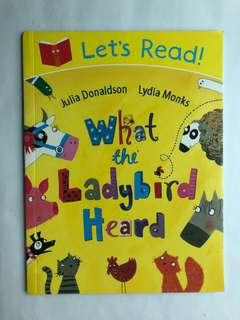 🚚 What the Ladybird heard by Julia Donaldson