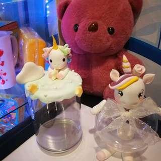 Unicorn candy jar