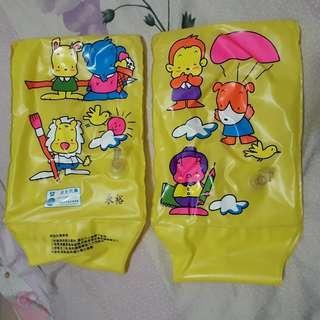 兒童 充氣套手游泳圈