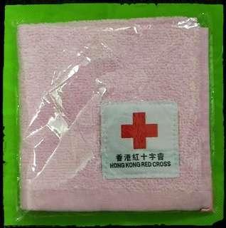 紅十字會小方巾(粉紅色)