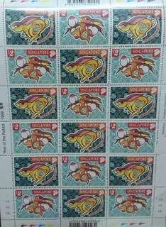 1999兔年郵票 新加坡郵票