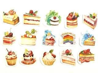 🚚 Lustrous Cakes sticker set