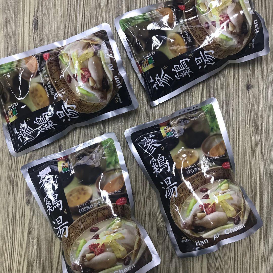 韓國🇰🇷人蔘雞湯-1kg包裝