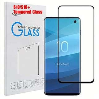 🚚 S10 /S10+ full coverage tempered glass