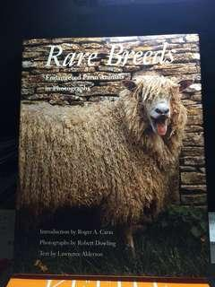 Book on rare breeds of animals
