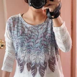 Forever 21 Feather Top