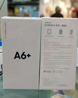 Promo Free 1x Angsuran - Samsung Galaxy A6+