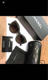 Chanel Sunglasses 5331A 714/S9 Polarized Dark Havana Size 51-20. 100% Authentic