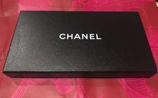 Chanel Black Lamb skin wallet