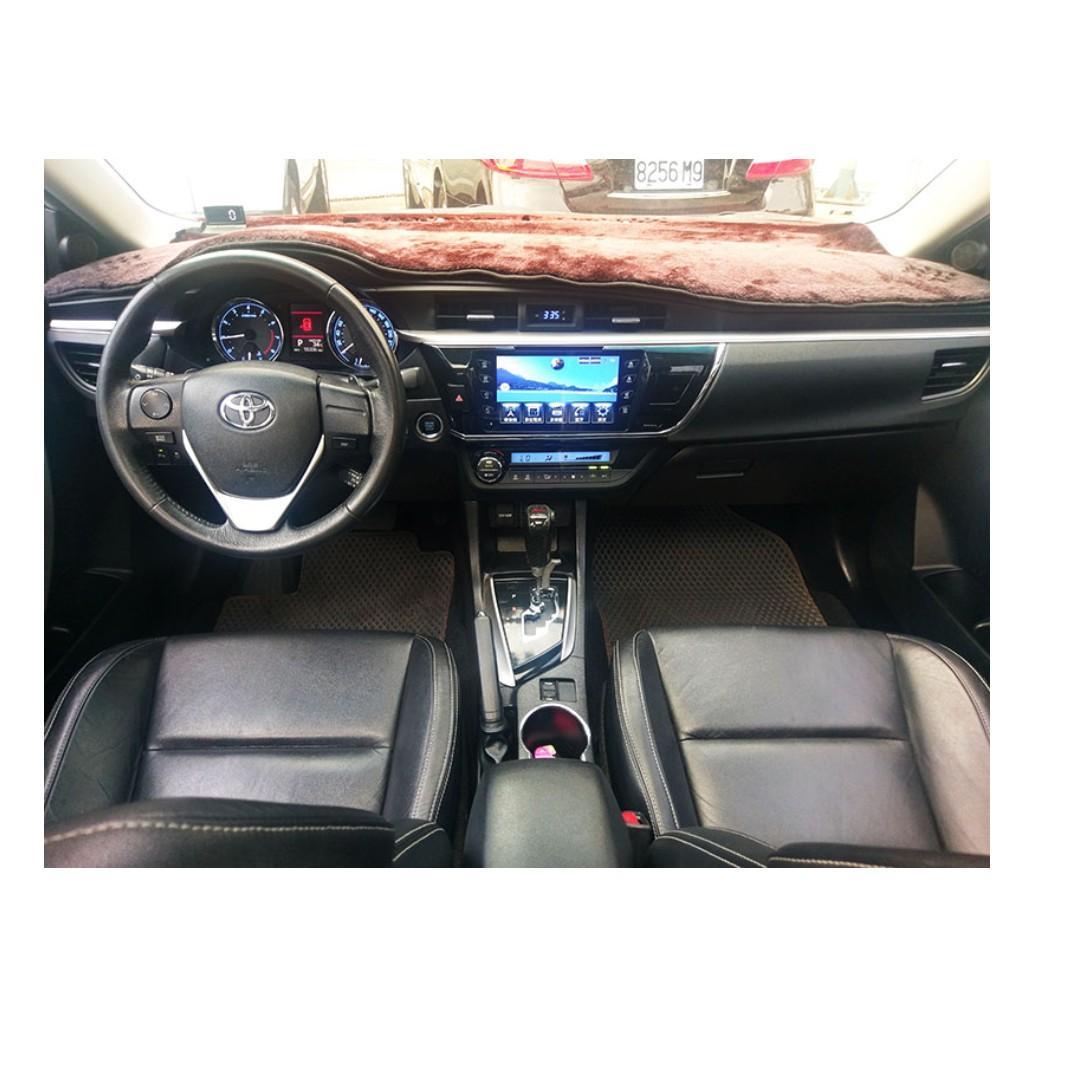 2015 Toyota Altis 1.8 白 FB搜尋 : 『阿文の圓夢車坊』