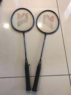 Badminton Rackets (2 qty) Moving out sale!