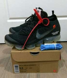 Off-White x Nike Air VaporMax 2.0 Black US 9.5