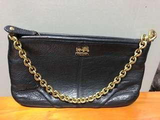🚚 COACH Authentic Ladies Leather Sling