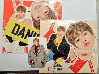 Kang Daniel X Lap Sticker Set / Photocard