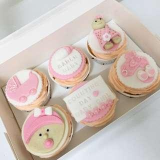 Custom Fondant Cupcake