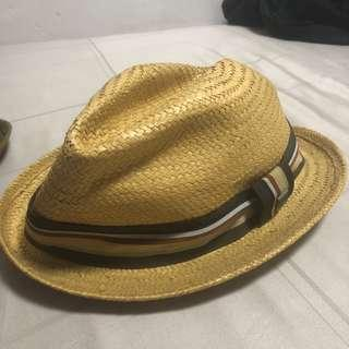 c90b474995915 Brixton Castor Tan Straw Hat in Large