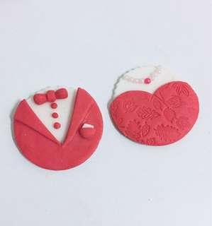Custom Fondant Cupcakes