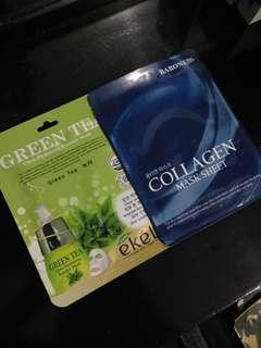 Face Mask :) Take both!